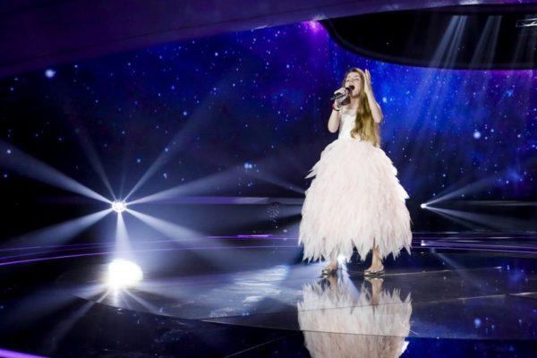 Olivia Wieczorek w Eurowizji dla dzieci | fot. Andres Putting