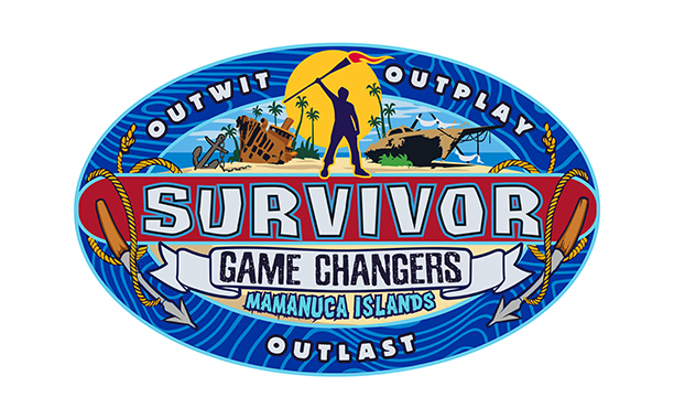 "Logo programu ""Survivor 34: Game Changers, The Mamanuca Islands"""