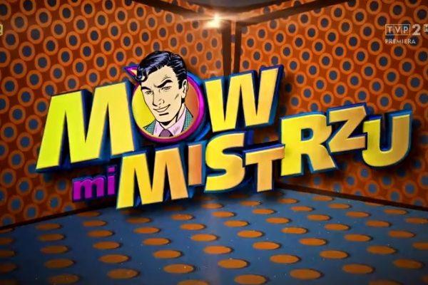 """Logo programu """"Mów mi mistrzu"""""""