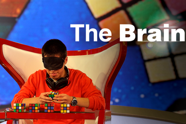 "Kadr z programu ""The Brain"" 