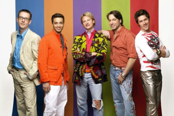 "Bohaterowie 5 sezonów programu ""Queer Eye for the Straight Guy"" 
