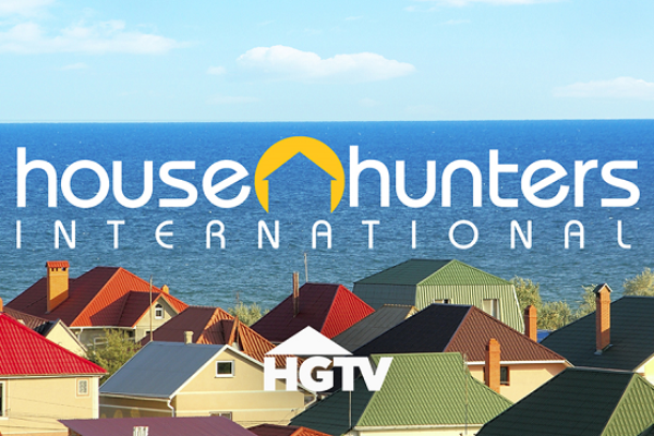 "Logo programu ""House Hunters International"""