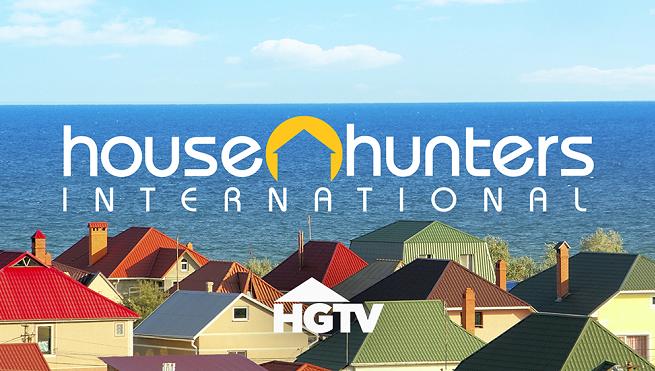 "Logo programu ""House Hunters International"""