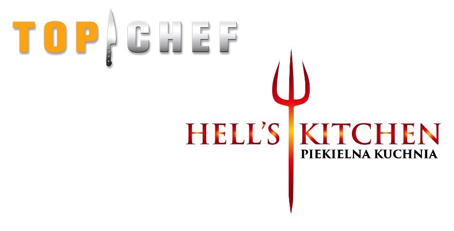 "Logo programów ""Top Chef"" i ""Hell's Kitchen"""
