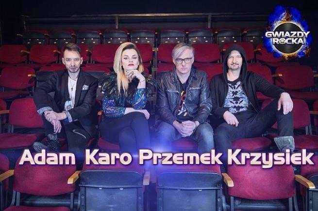 """Jury programu """"Gwiazdy Rocka""""   fot. TVP"""