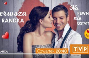 """Kadr z programu """"Pierwsza randka""""   fot. TVP2"""