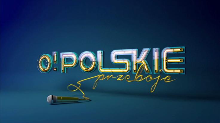 """Logo programu """"O! Polskie Przeboje"""""""