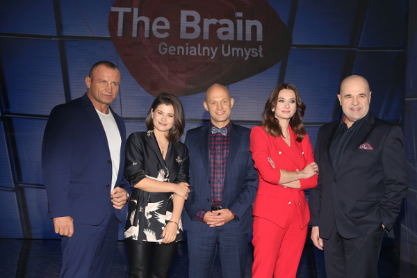 "Jury programu ""The Brain"" 