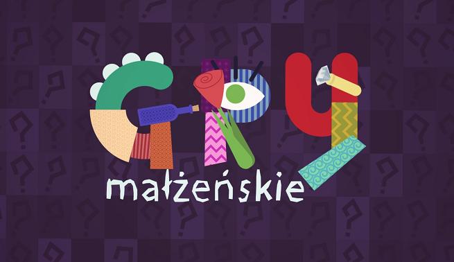 """Logo programu """"Gry małżeńskie"""""""