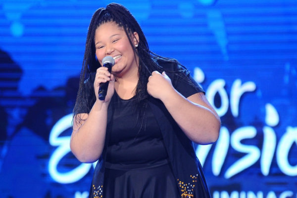 Destiny Chukunyere podczas Eurowizji Junior 2015 | fot. East News