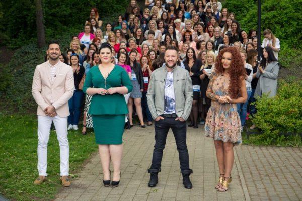 "Jurorzy programu ""#Supermodelka Plus Size"" | fot. Polsat"