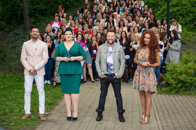 "Jurorzy programu ""#Supermodelka Plus Size""   fot. Polsat"