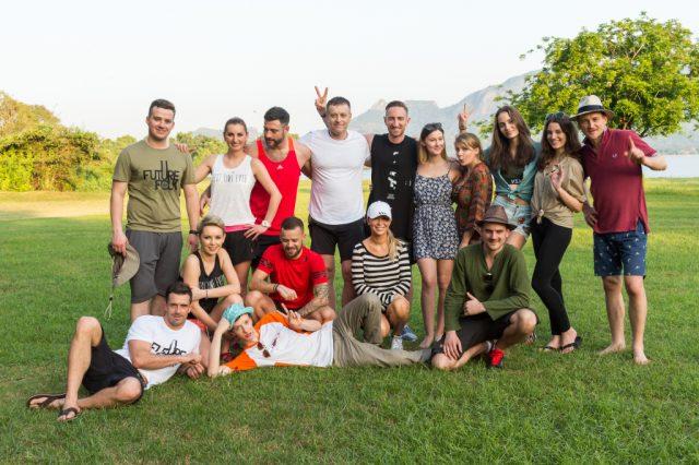 """Uczestnicy programu """"Azja Express 2""""   fot. TVN"""