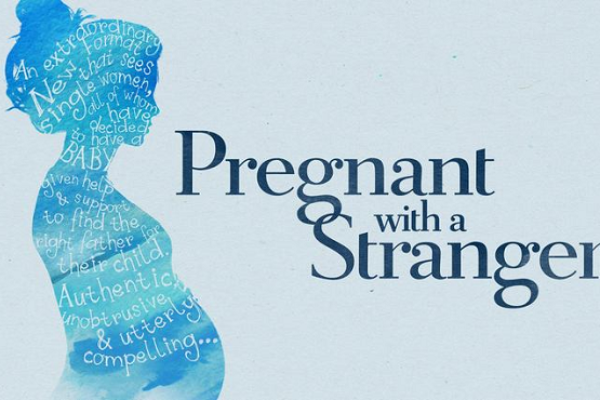 "Logo programu ""Pregnant with a Stranger"""