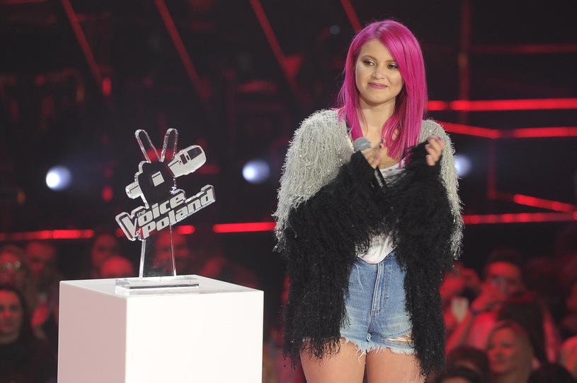 """Marta Gałuszewska, zwyciężczyni """"The Voice of Poland 8""""   fot. TVP2"""