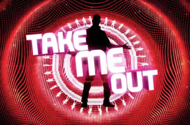 "Logo programu ""Take Me Out"""